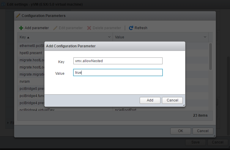 vmx.allowNested parameter